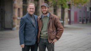 Eelco Van Der Lingen (l) en Eric Philippe Bernard van Hove Marsan van Mondragon (r) De Blokhuispoort Leeuwarden (2018)