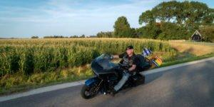 webwerkt fotografie - he proud owner of a Harley-Davidson.